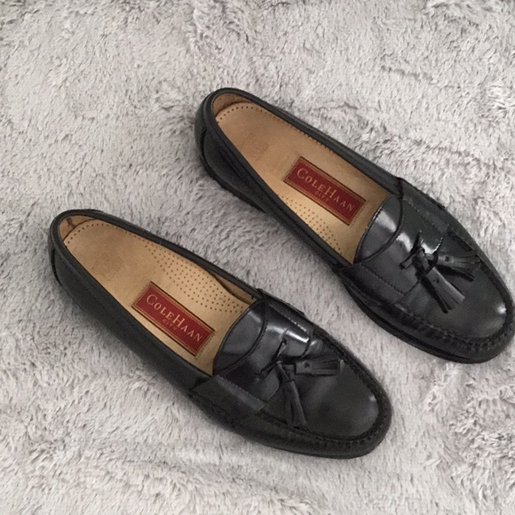 0bfdb78a09c Cole Haan Other - Men s Cole Haan Black Tassel Loafers